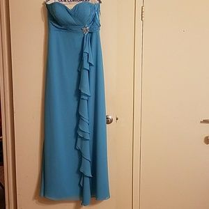 Mary's Modern Maids bridesmaid dress turquoise